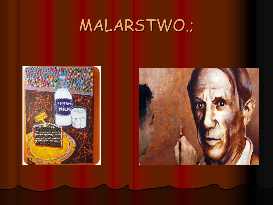 MALARSTWO.;