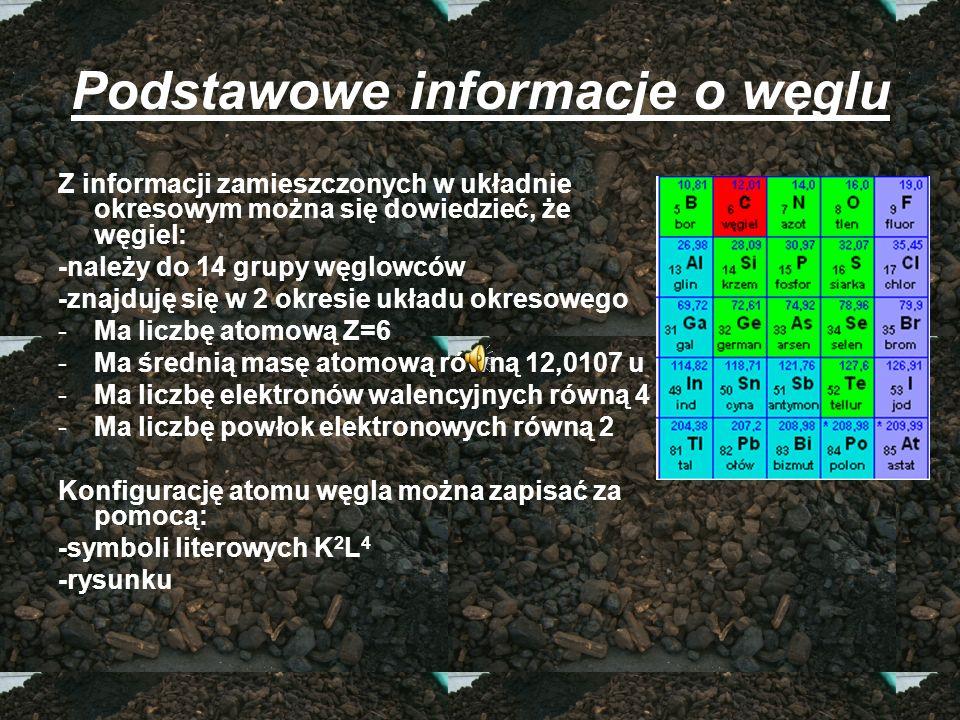 Podstawowe informacje o węglu