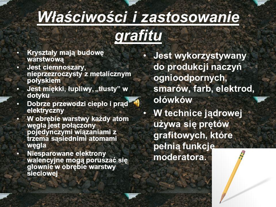 Właściwości i zastosowanie grafitu