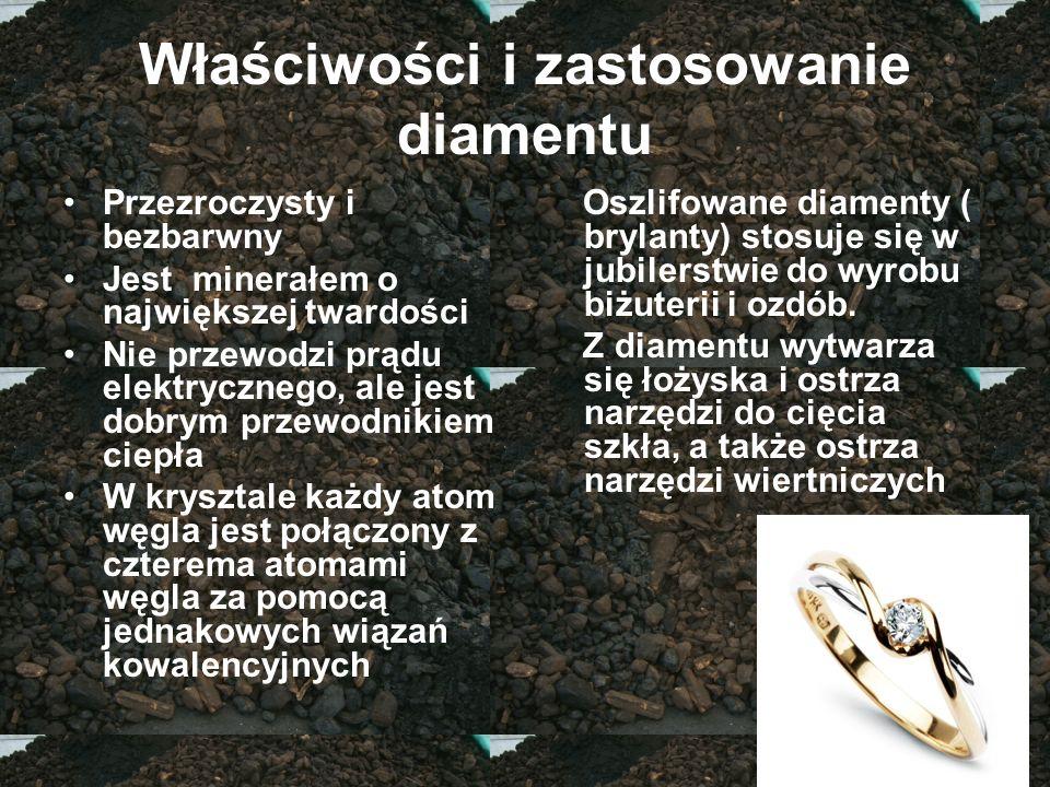 Właściwości i zastosowanie diamentu
