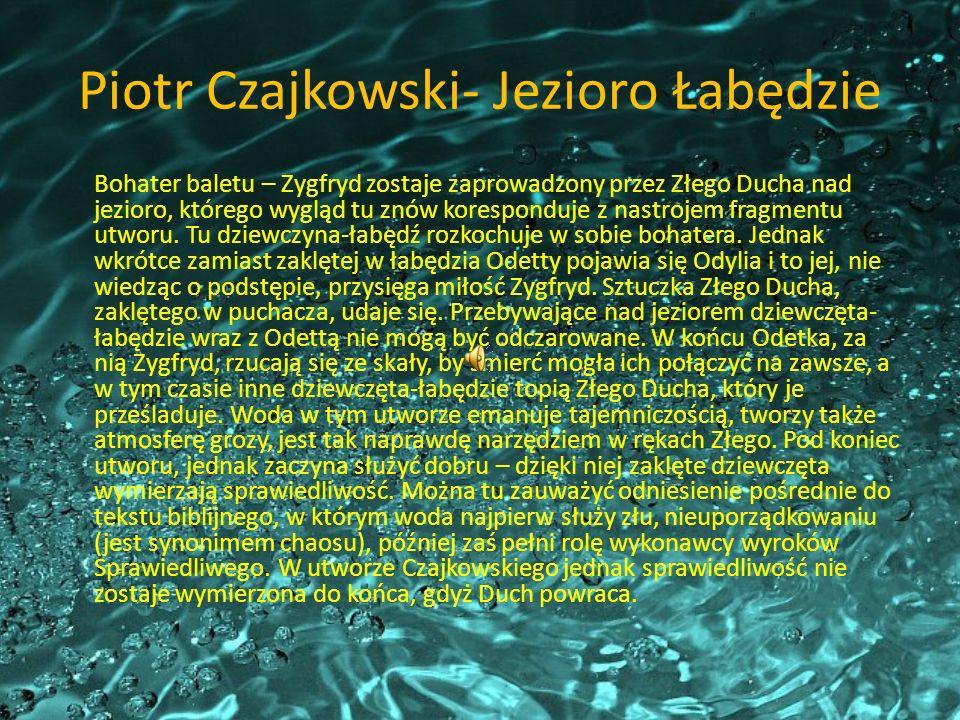 Piotr Czajkowski- Jezioro Łabędzie