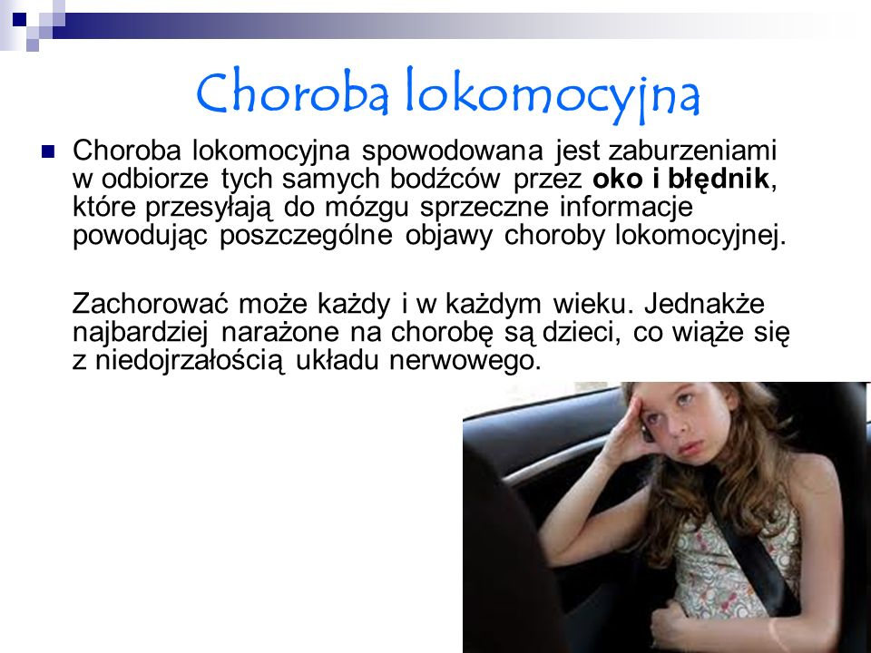 Choroba lokomocyjna