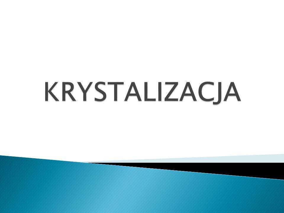 KRYSTALIZACJA