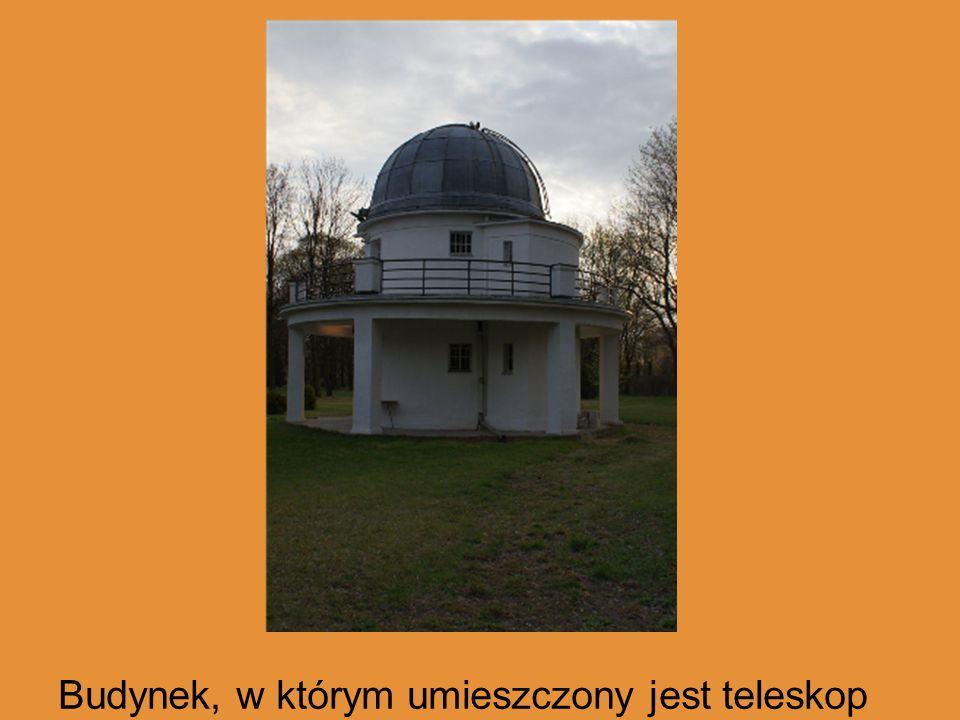 Budynek, w którym umieszczony jest teleskop