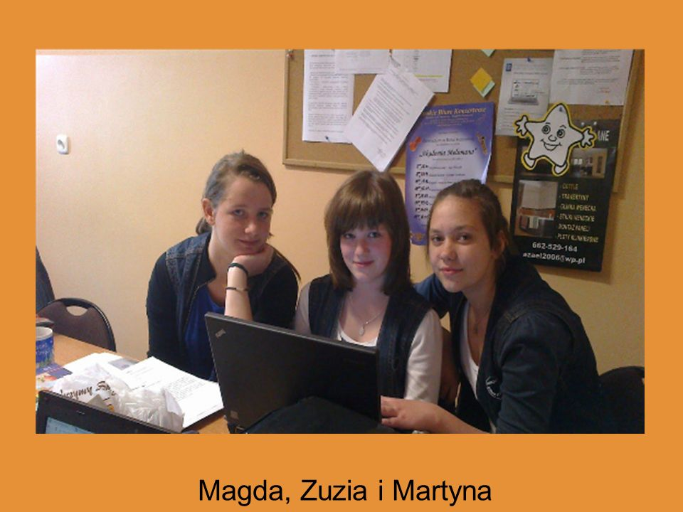 Magda, Zuzia i Martyna