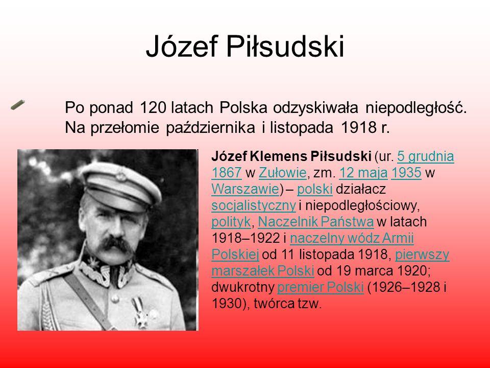Józef Piłsudski Święto niepodległość