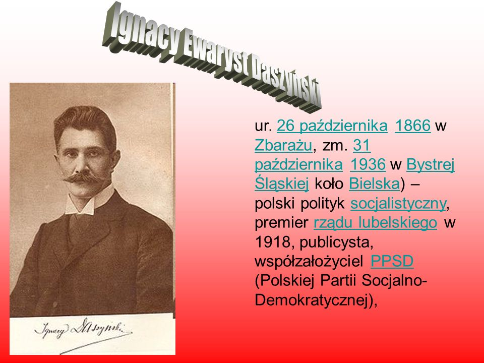 Ignacy Ewaryst Daszyński