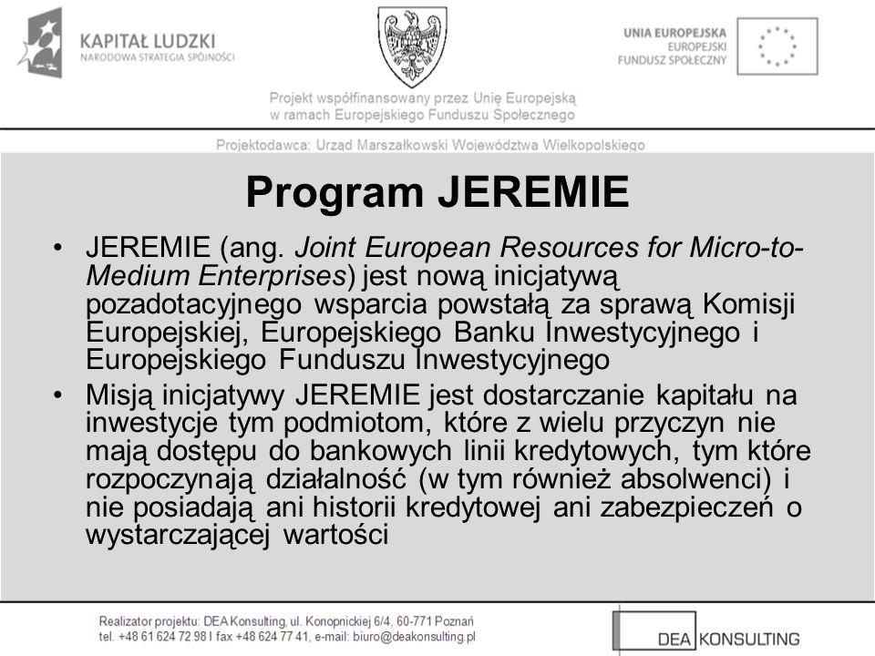 Program JEREMIE
