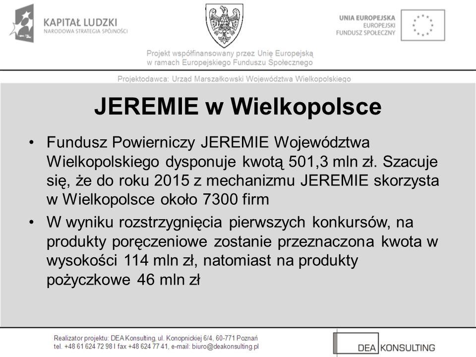 JEREMIE w Wielkopolsce