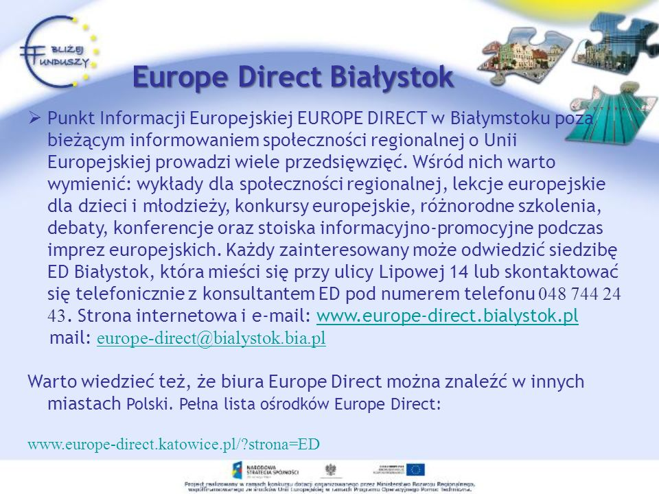 Europe Direct Białystok