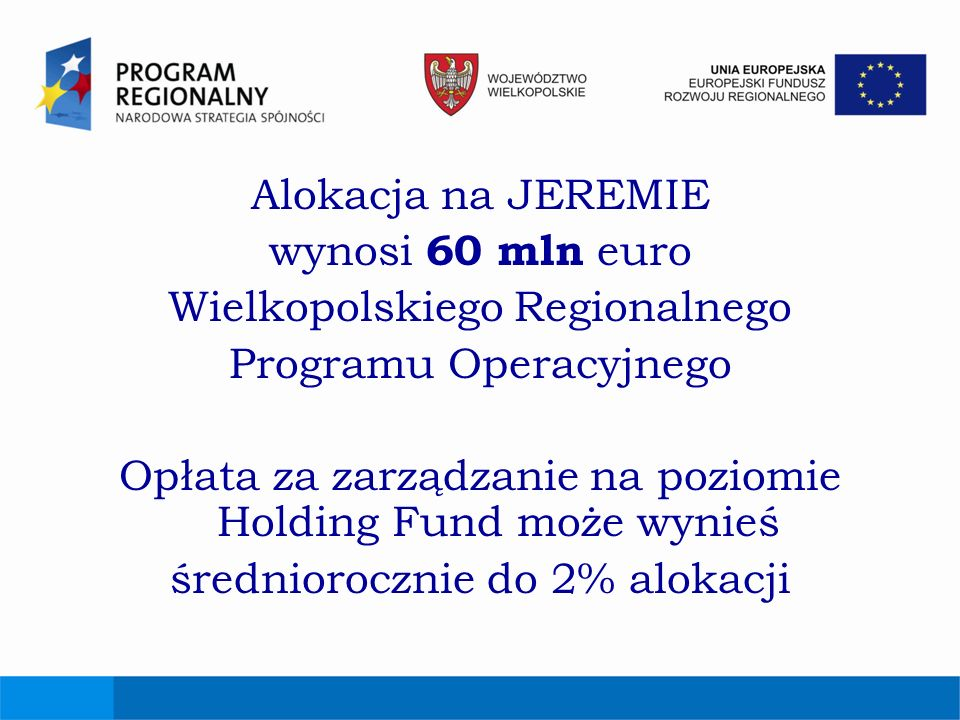 Wielkopolskiego Regionalnego Programu Operacyjnego