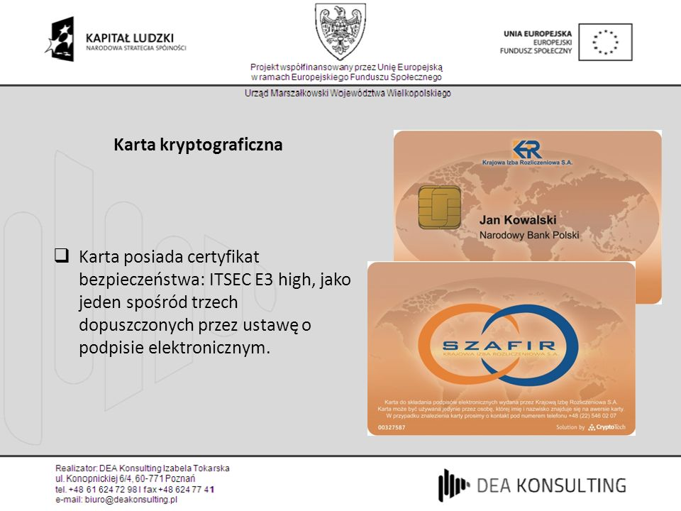 Karta kryptograficzna