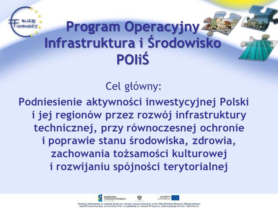 Program Operacyjny Infrastruktura i Środowisko POIiŚ