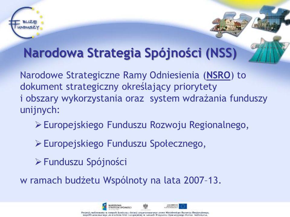 Narodowa Strategia Spójności (NSS)
