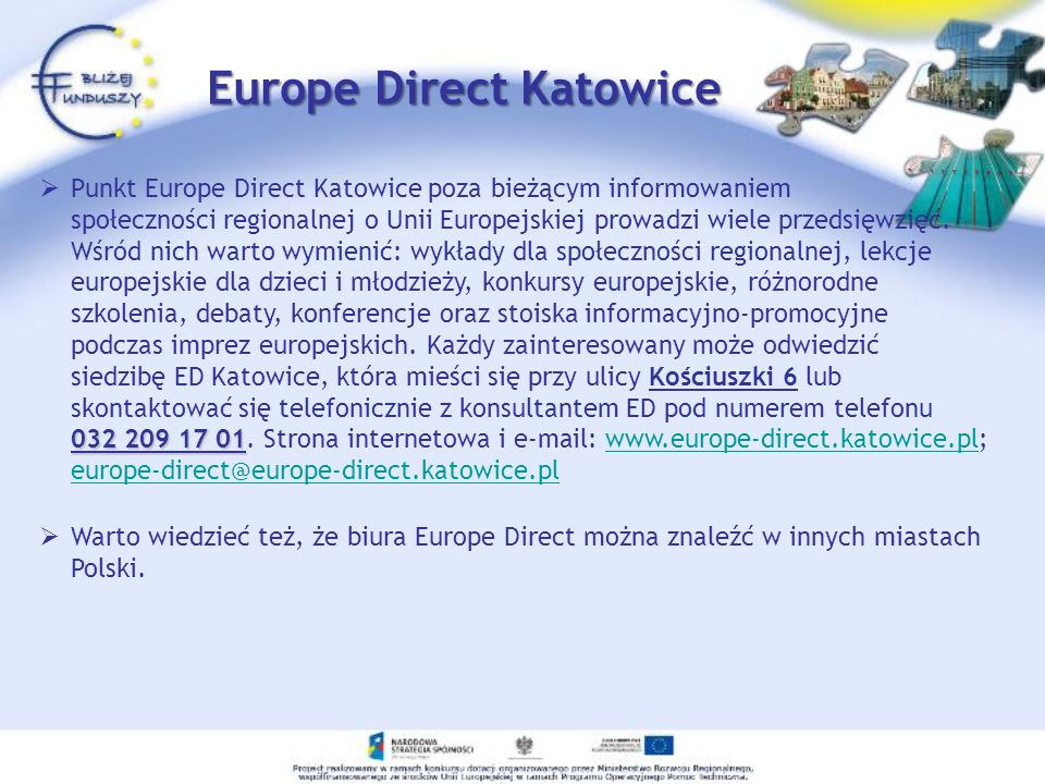 Europe Direct Katowice