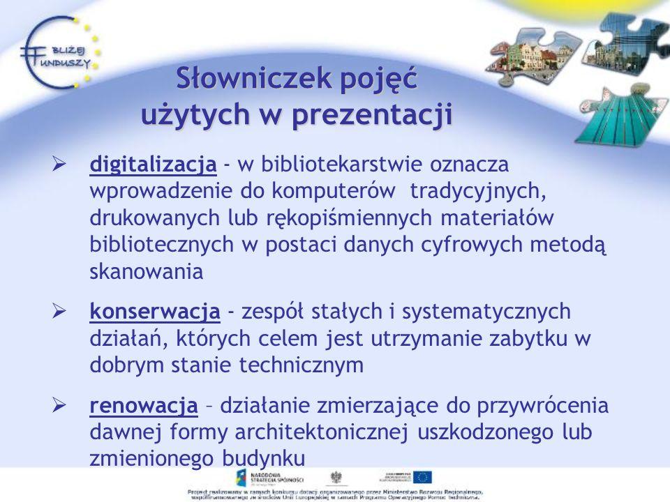Słowniczek pojęć użytych w prezentacji