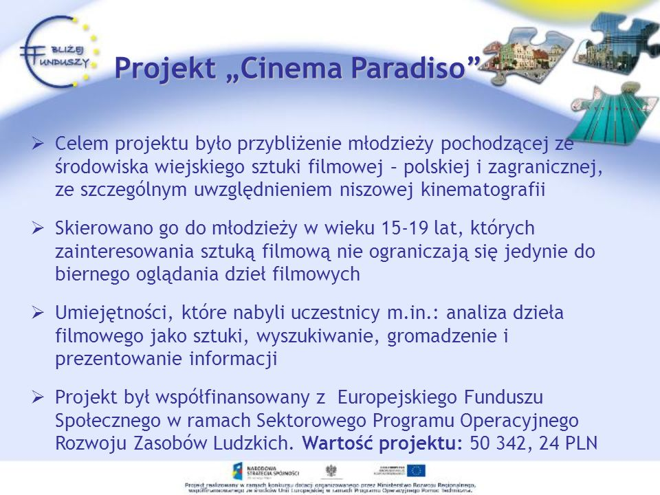 "Projekt ""Cinema Paradiso"