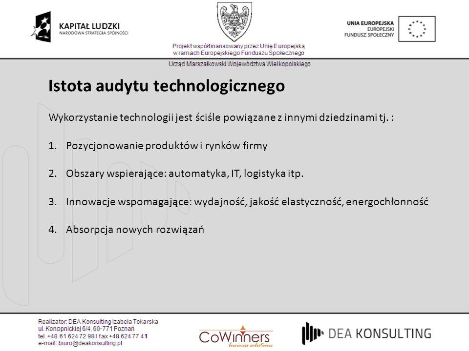 Istota audytu technologicznego