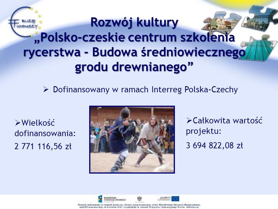 Dofinansowany w ramach Interreg Polska-Czechy
