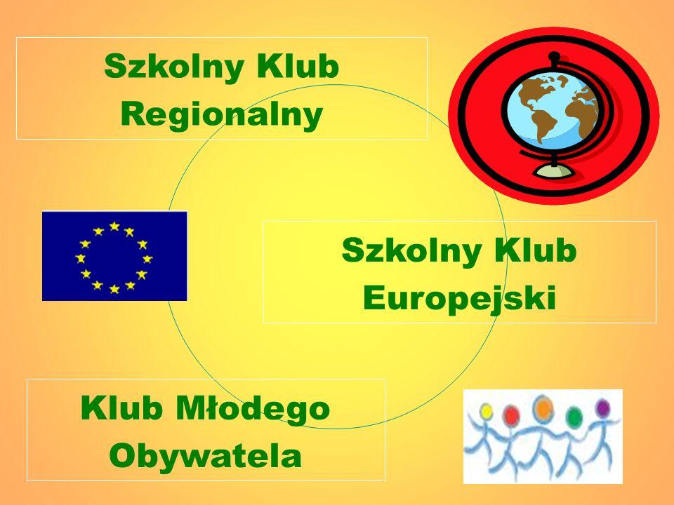 Szkolny Klub Regionalny Szkolny Klub Europejski Klub Młodego Obywatela