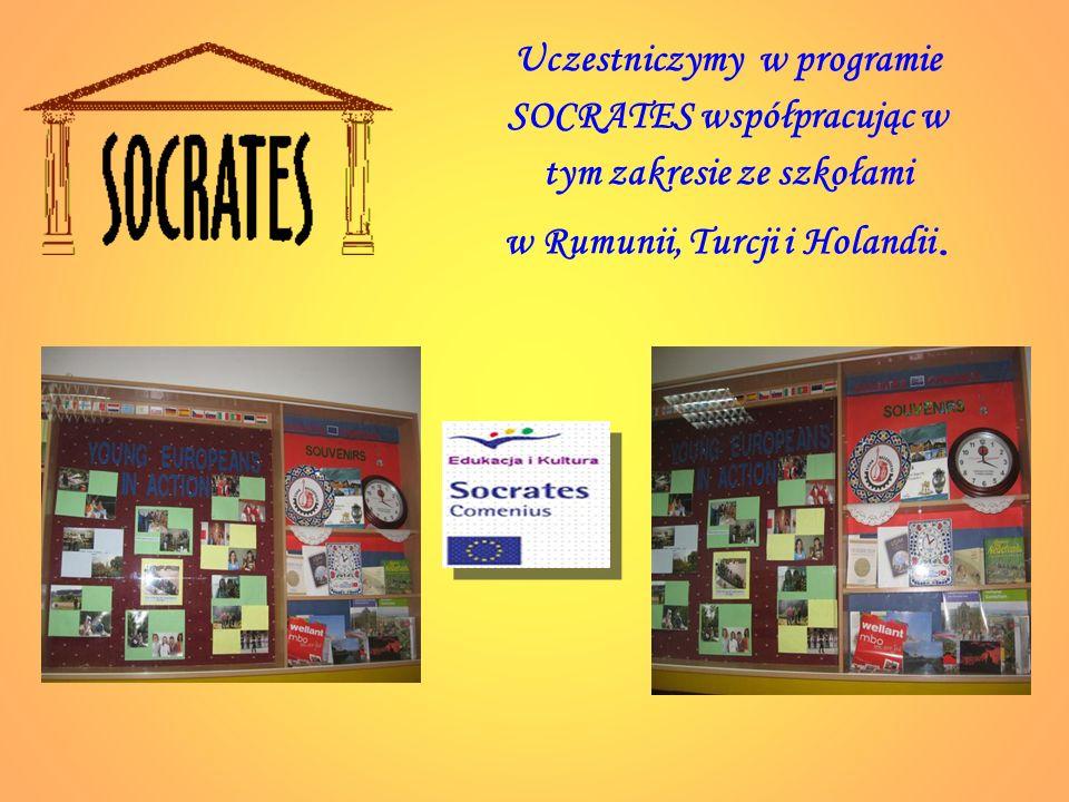 Uczestniczymy w programie SOCRATES współpracując w