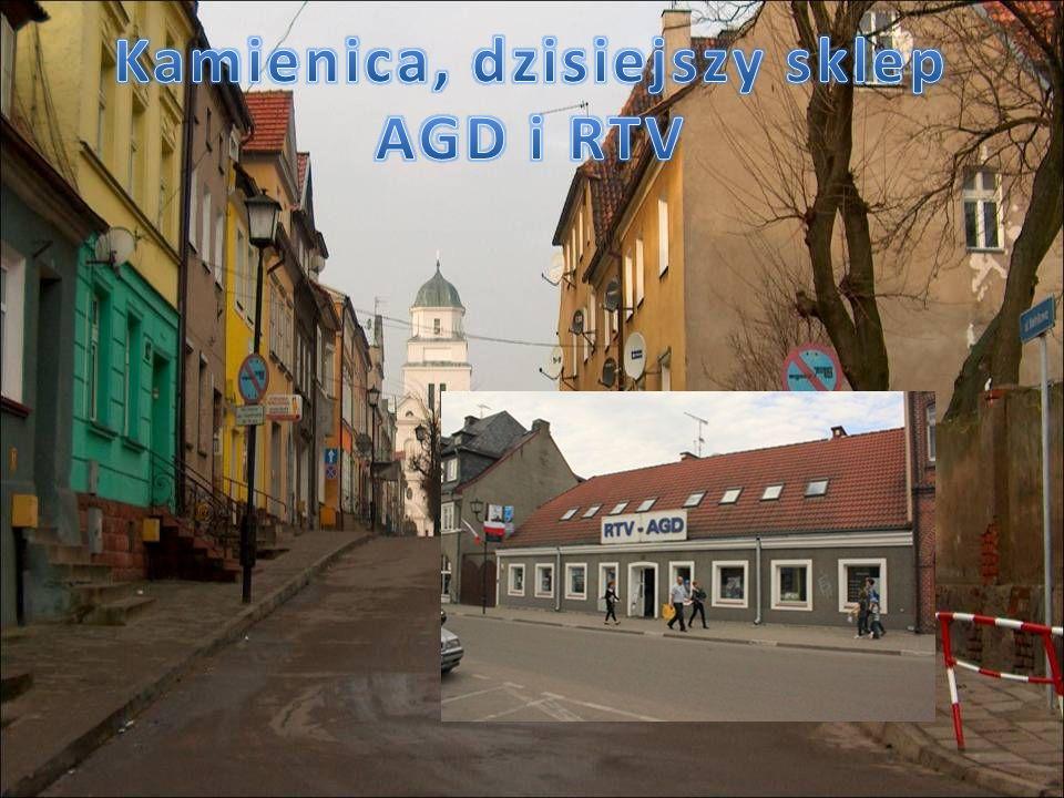 Kamienica, dzisiejszy sklep AGD i RTV