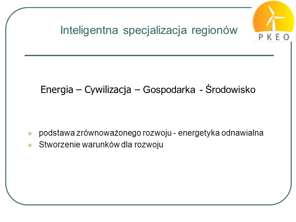 Inteligentna specjalizacja regionów