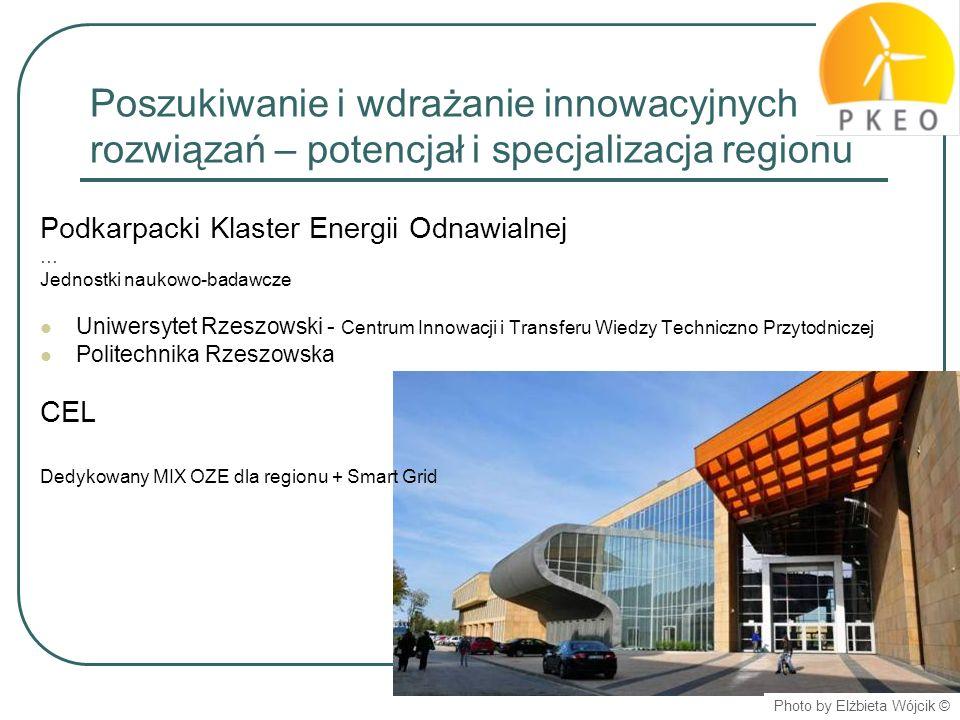 Poszukiwanie i wdrażanie innowacyjnych rozwiązań – potencjał i specjalizacja regionu