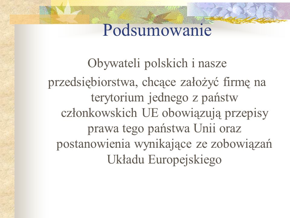 Obywateli polskich i nasze
