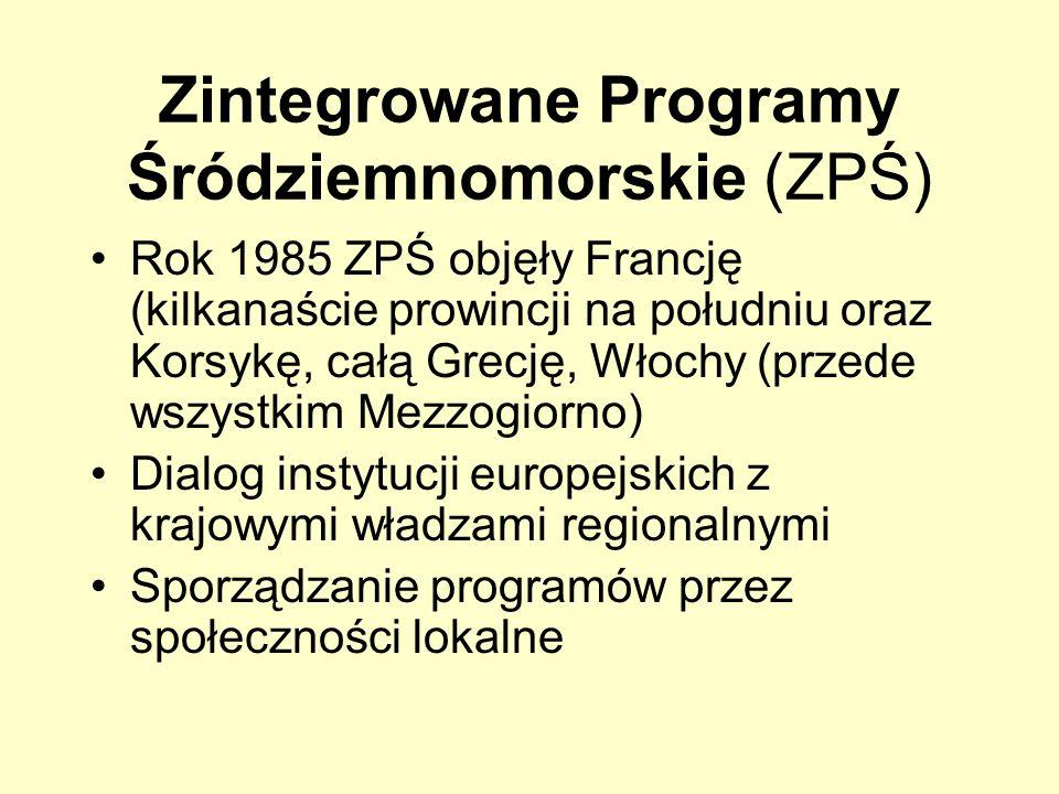 Zintegrowane Programy Śródziemnomorskie (ZPŚ)