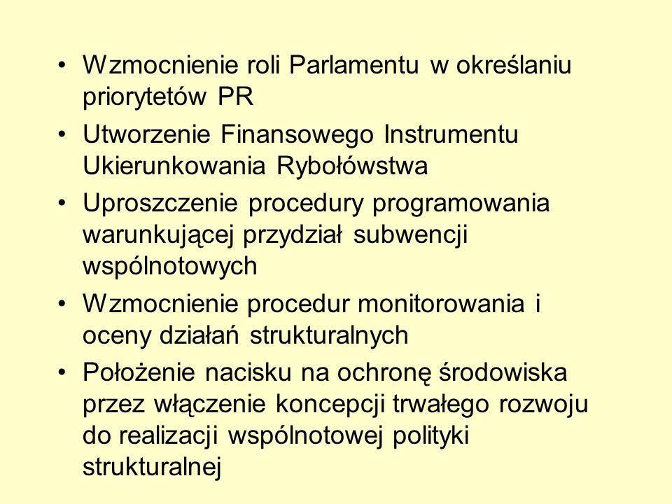 Wzmocnienie roli Parlamentu w określaniu priorytetów PR