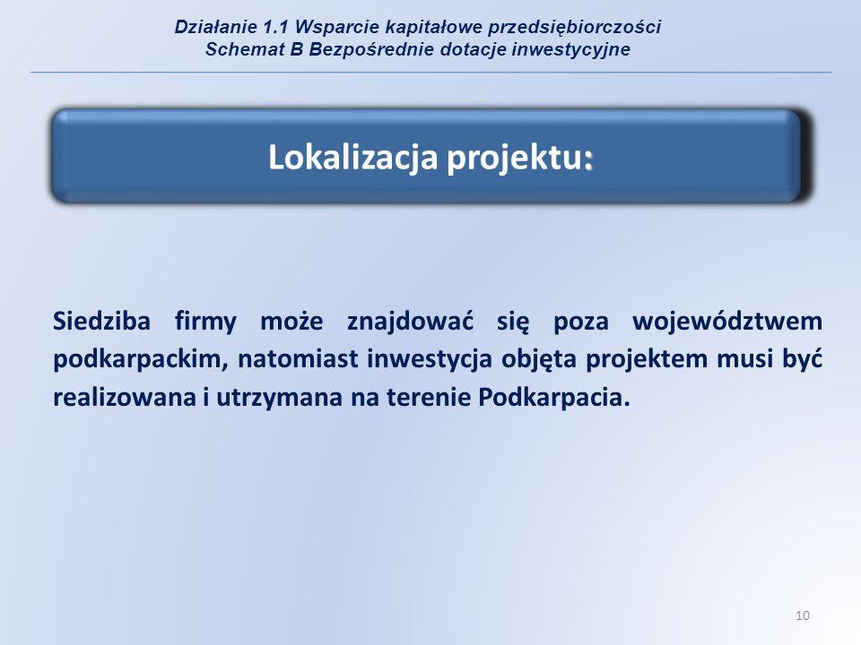 Lokalizacja projektu: