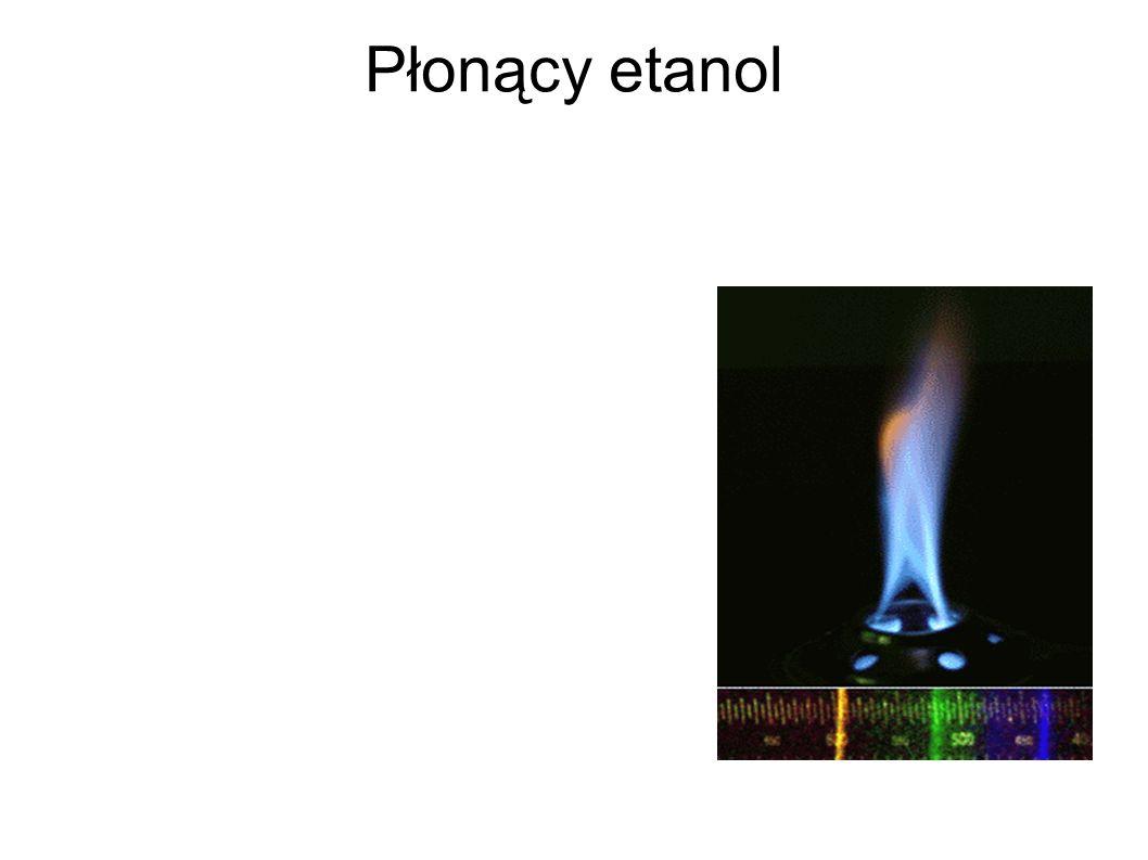 Płonący etanol