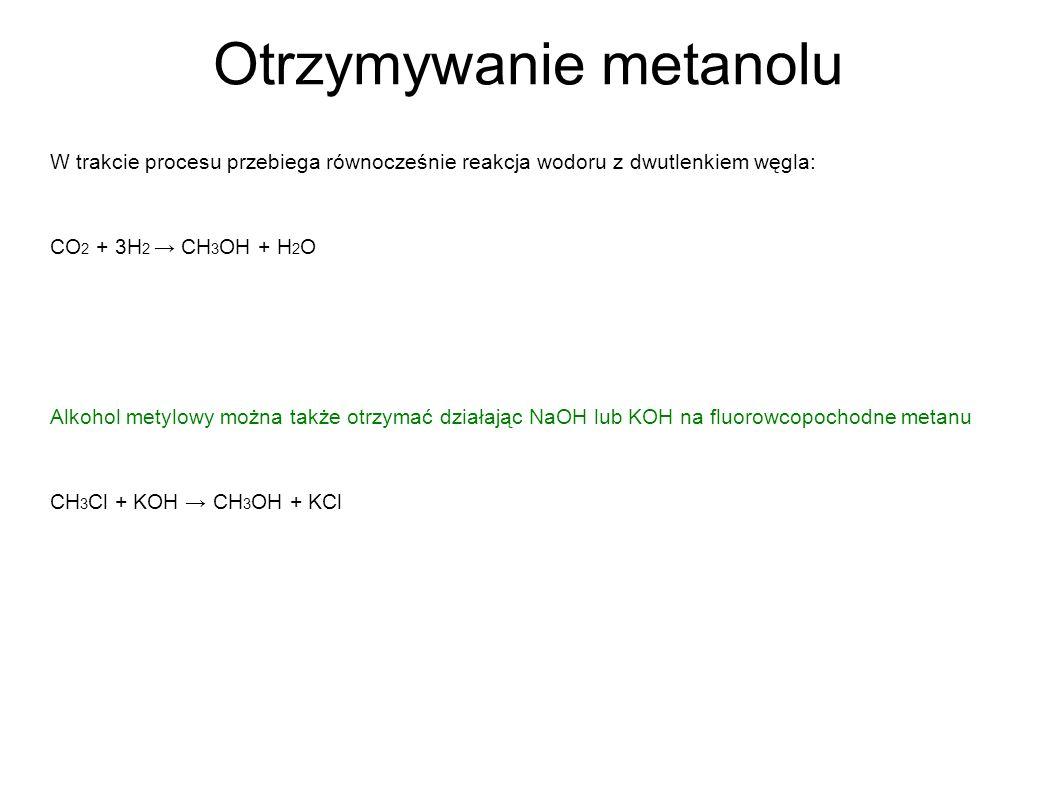 Otrzymywanie metanolu