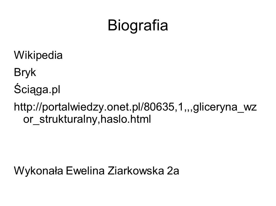 Biografia Wikipedia Bryk Ściąga.pl