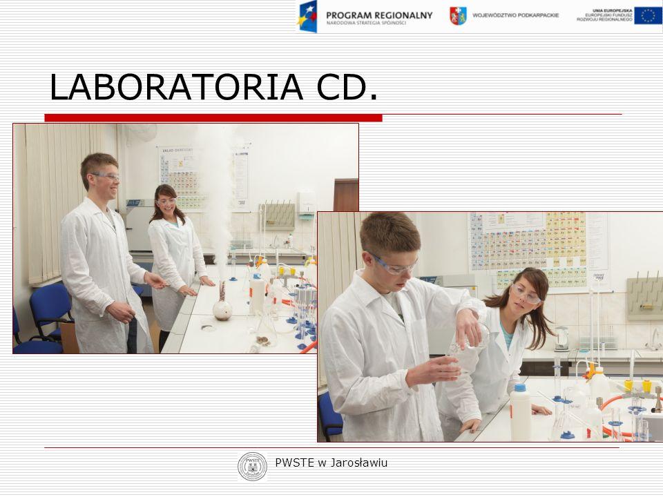 LABORATORIA CD. PWSTE w Jarosławiu