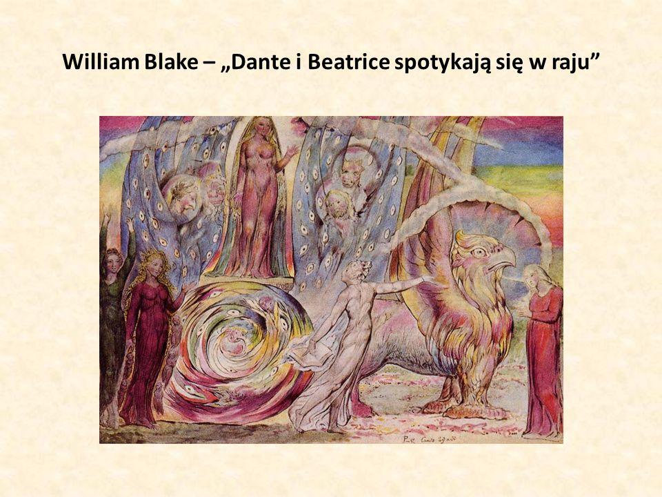 """William Blake – """"Dante i Beatrice spotykają się w raju"""