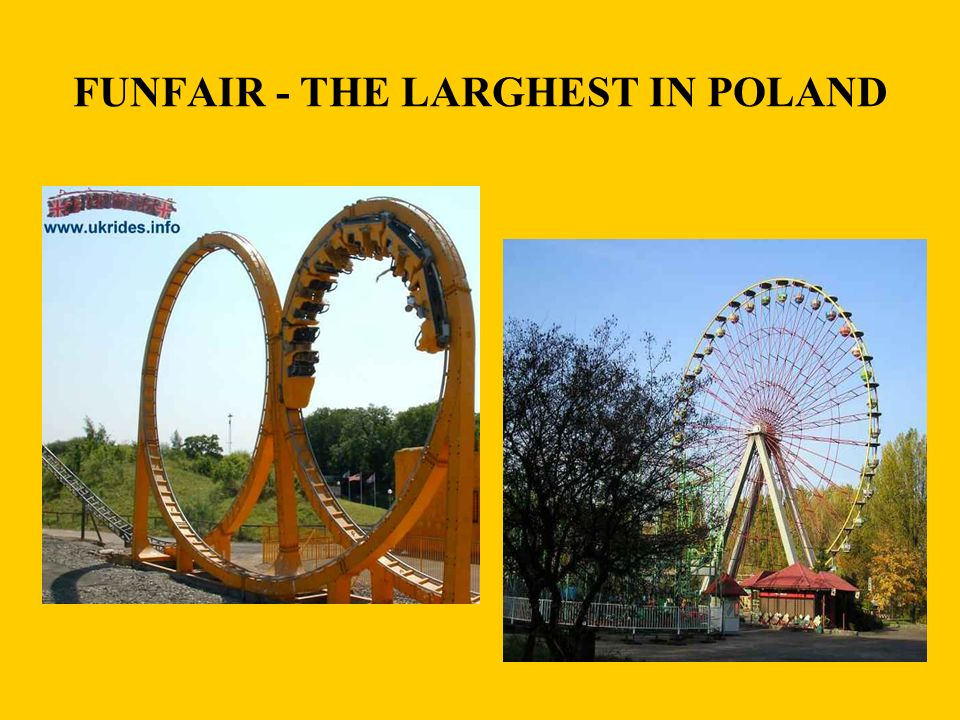 FUNFAIR - THE LARGHEST IN POLAND