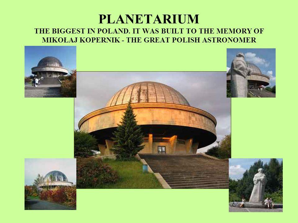 PLANETARIUM THE BIGGEST IN POLAND