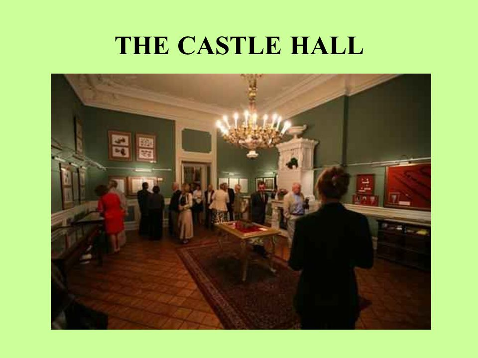 THE CASTLE HALL
