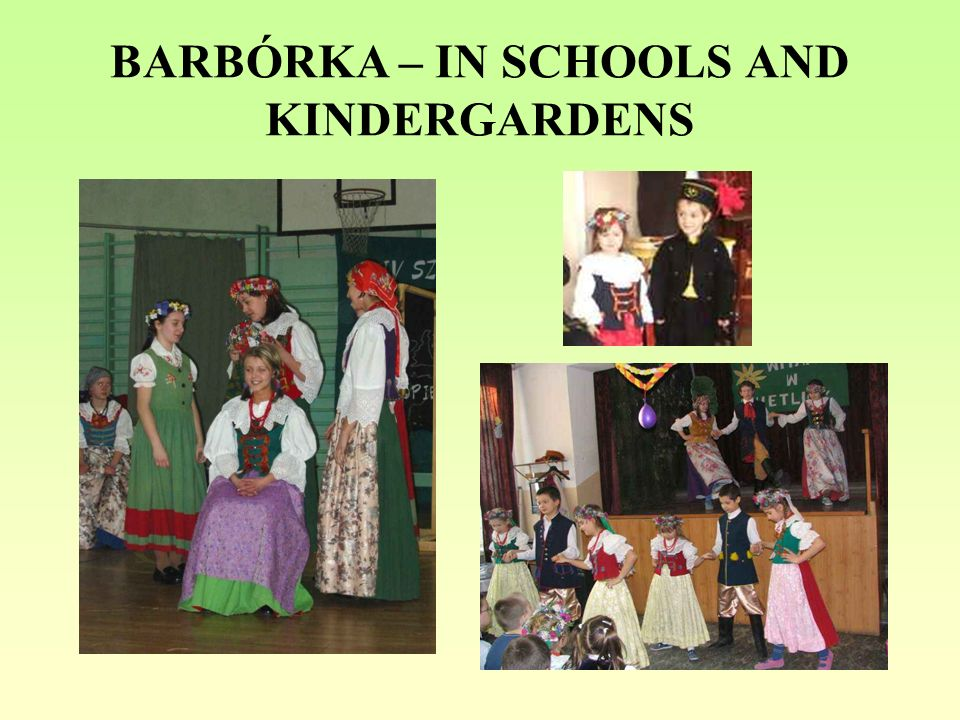 BARBÓRKA – IN SCHOOLS AND KINDERGARDENS