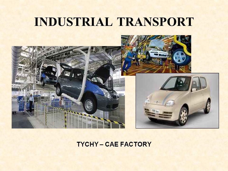INDUSTRIAL TRANSPORT TYCHY – CAE FACTORY