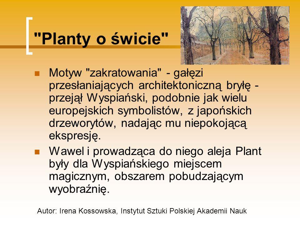 Planty o świcie