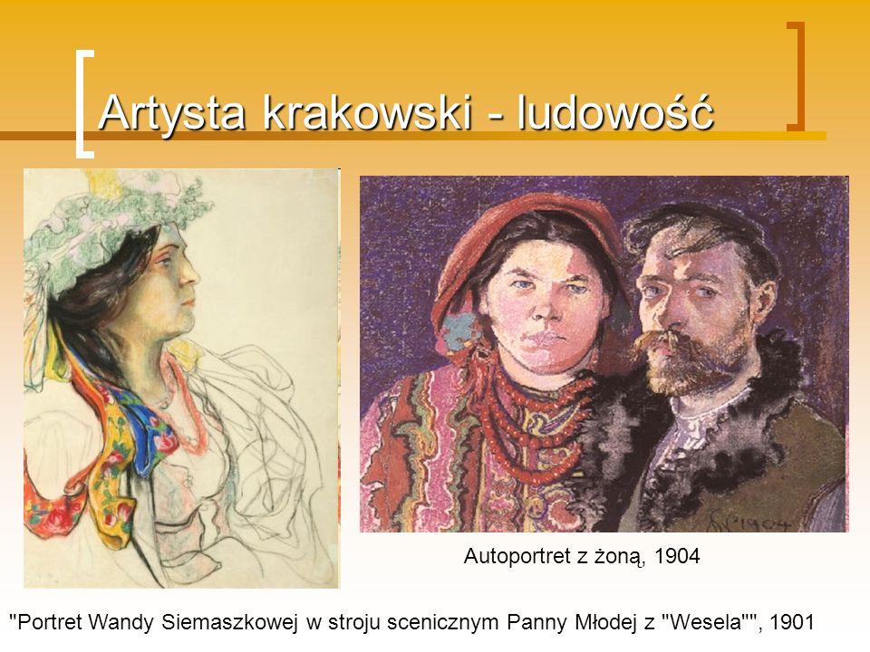 Artysta krakowski - ludowość
