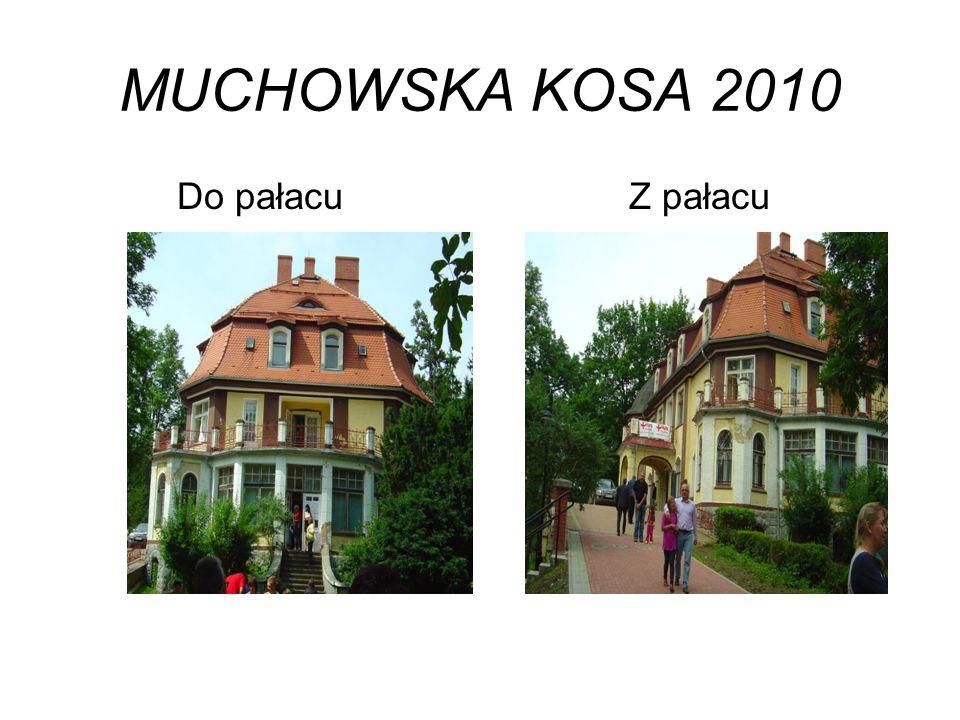 MUCHOWSKA KOSA 2010 Do pałacu Z pałacu