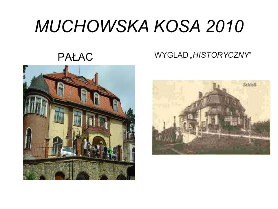 """MUCHOWSKA KOSA 2010 PAŁAC WYGLĄD """"HISTORYCZNY"""