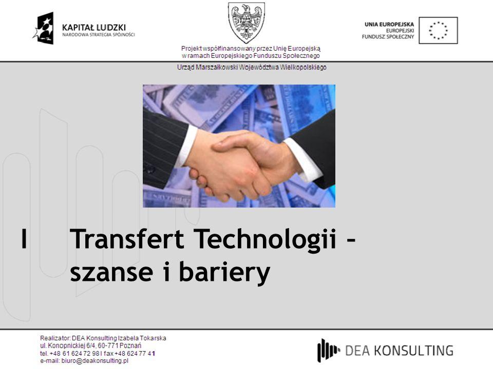 I Transfert Technologii –