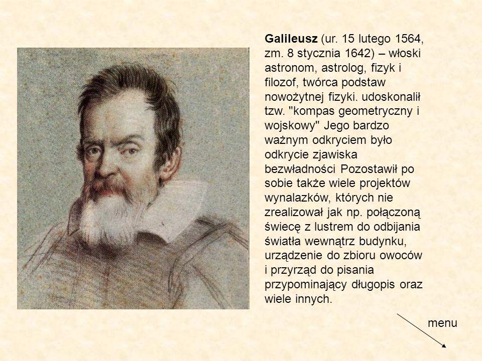 Galileusz (ur. 15 lutego 1564, zm