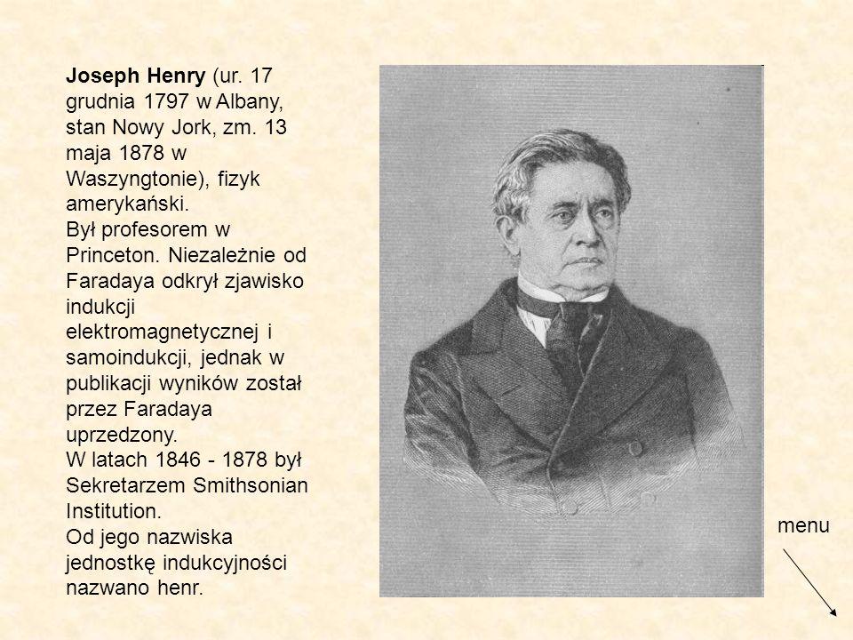 Joseph Henry (ur. 17 grudnia 1797 w Albany, stan Nowy Jork, zm