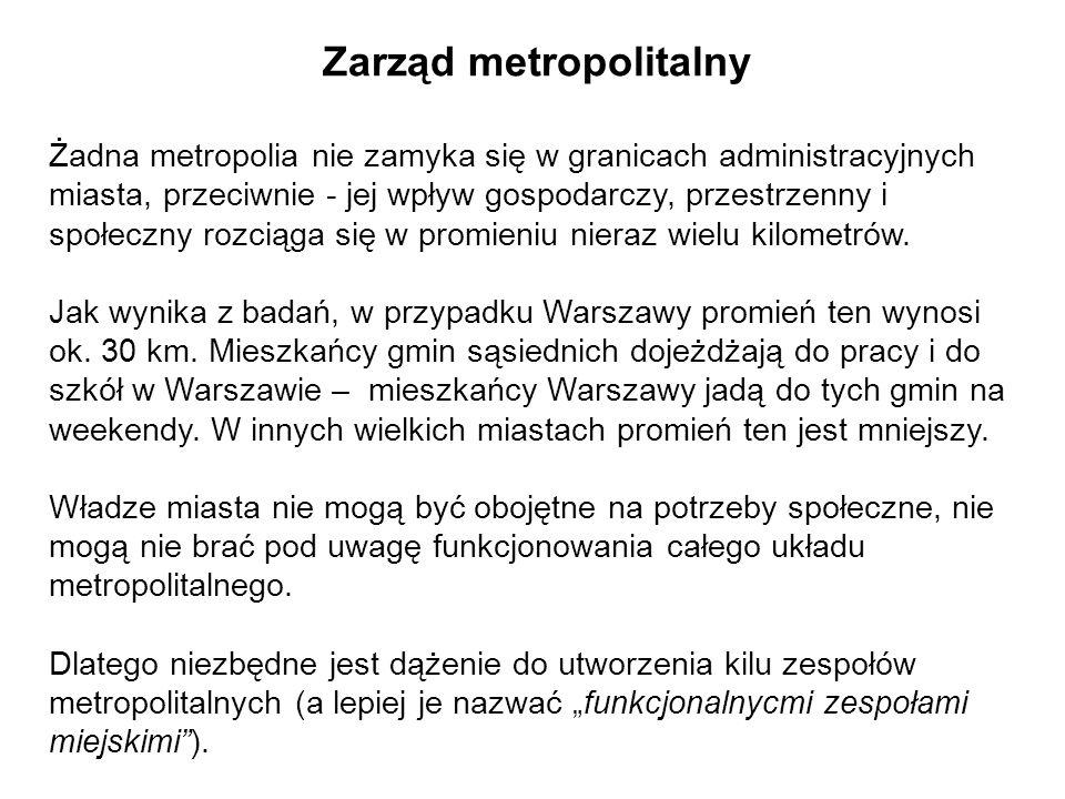Zarząd metropolitalny